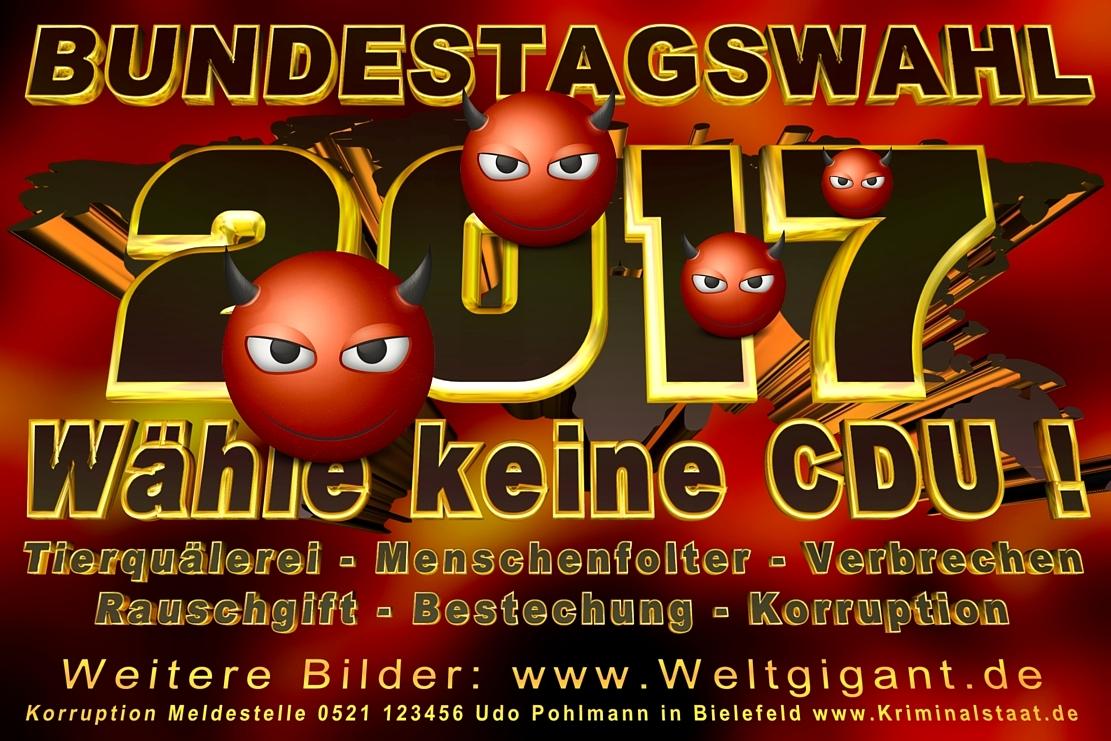 CDU Wahlplakate Bundestagswahl 2021