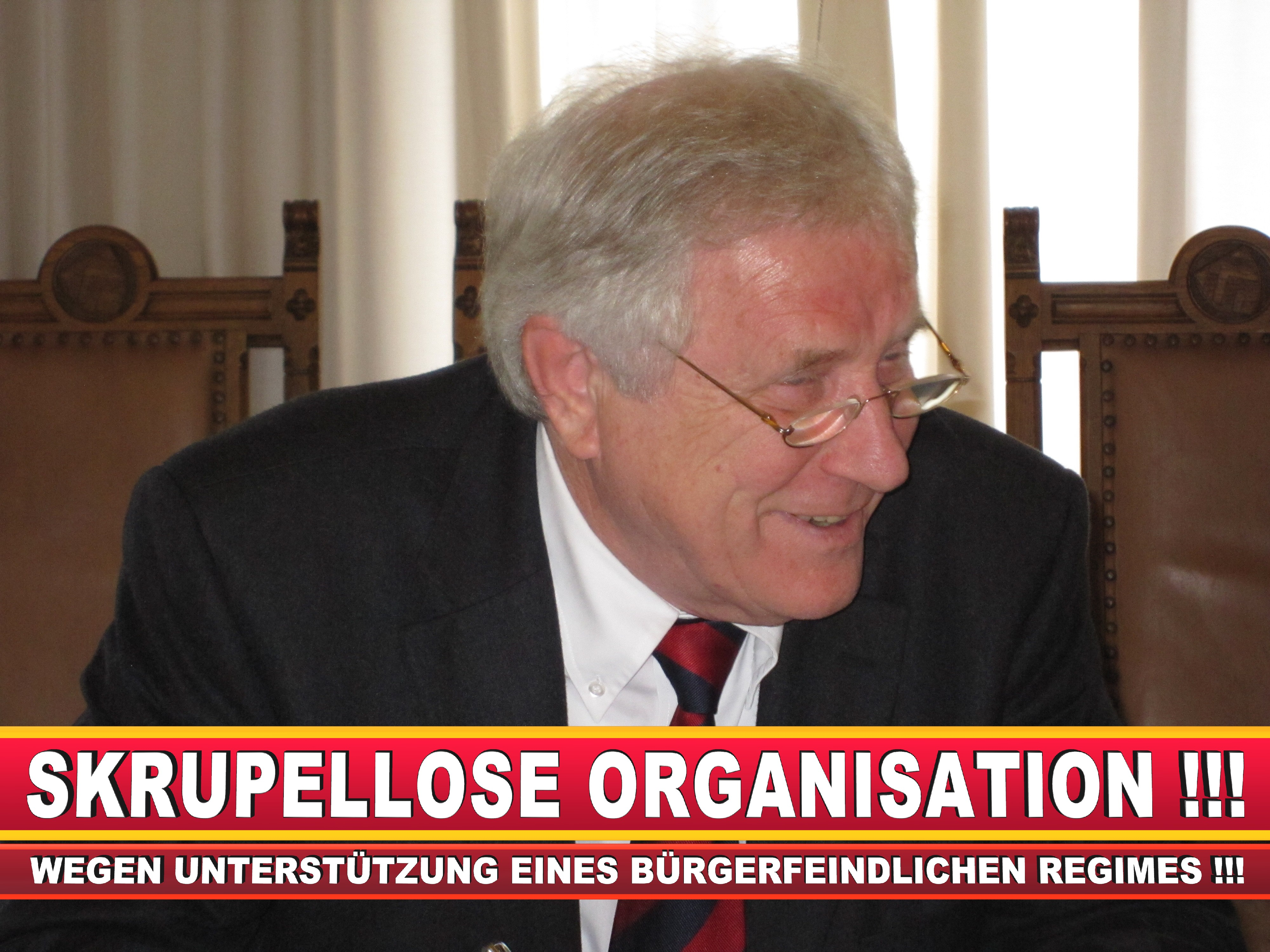 Polizeipräsident Erwin Südfeld Bielefeld Oberbürgermeister Bürgermeister Peter Clausen Pit Clausen Bielefeld (5)