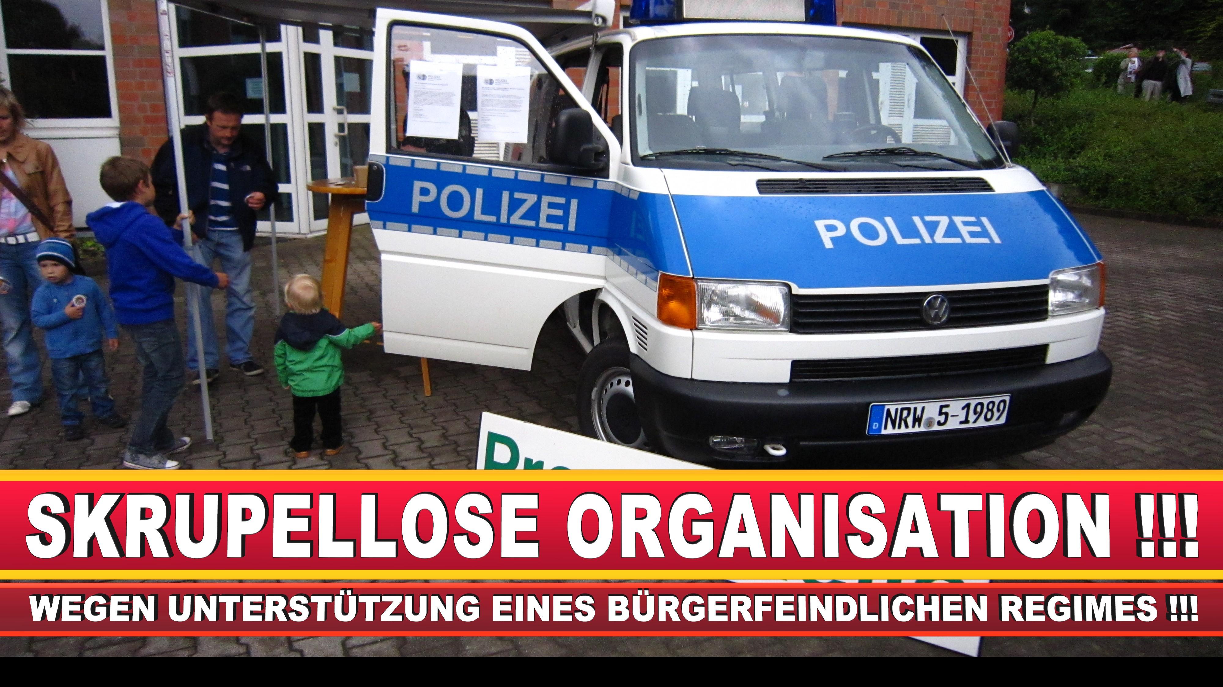 Polizeipräsidentin Katharina Giere Polizei Bielefeld NRW Erwin Südfeld Horst Kruse Polizeiuniform Polizeigewalt DEMONSTRATION Bahnhof (11)