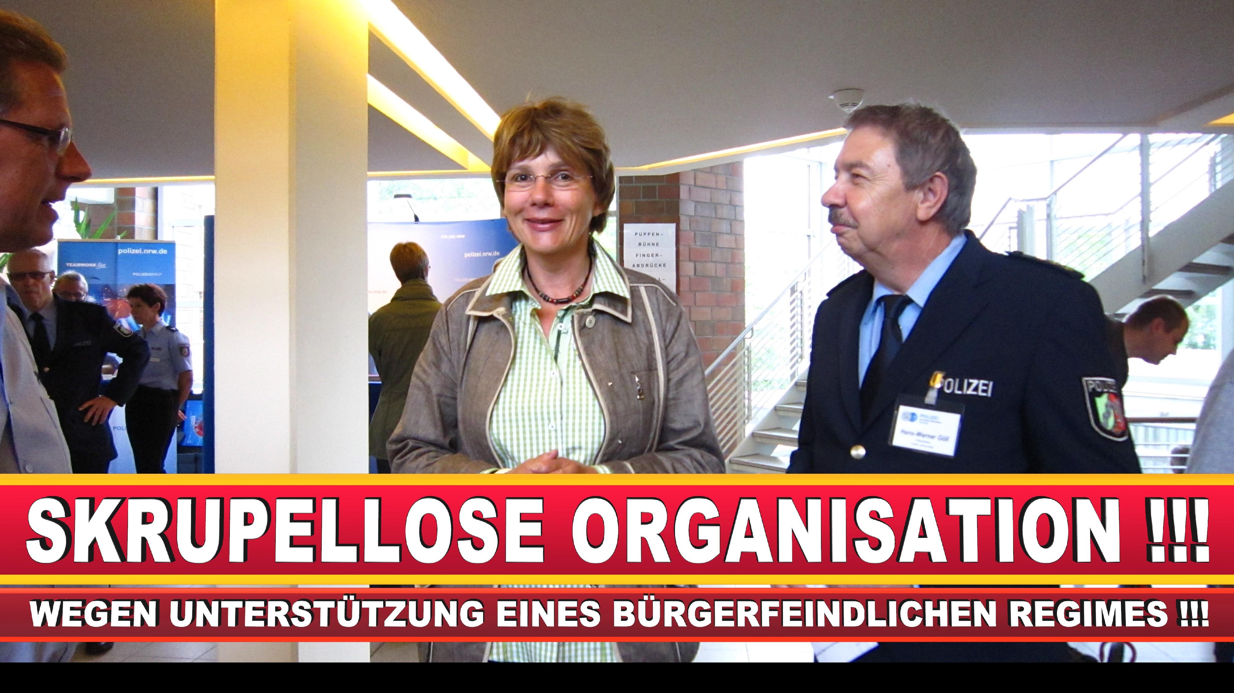 Polizeipräsidentin Katharina Giere Polizei Bielefeld NRW Erwin Südfeld Horst Kruse Polizeiuniform Polizeigewalt DEMONSTRATION Bahnhof (24)