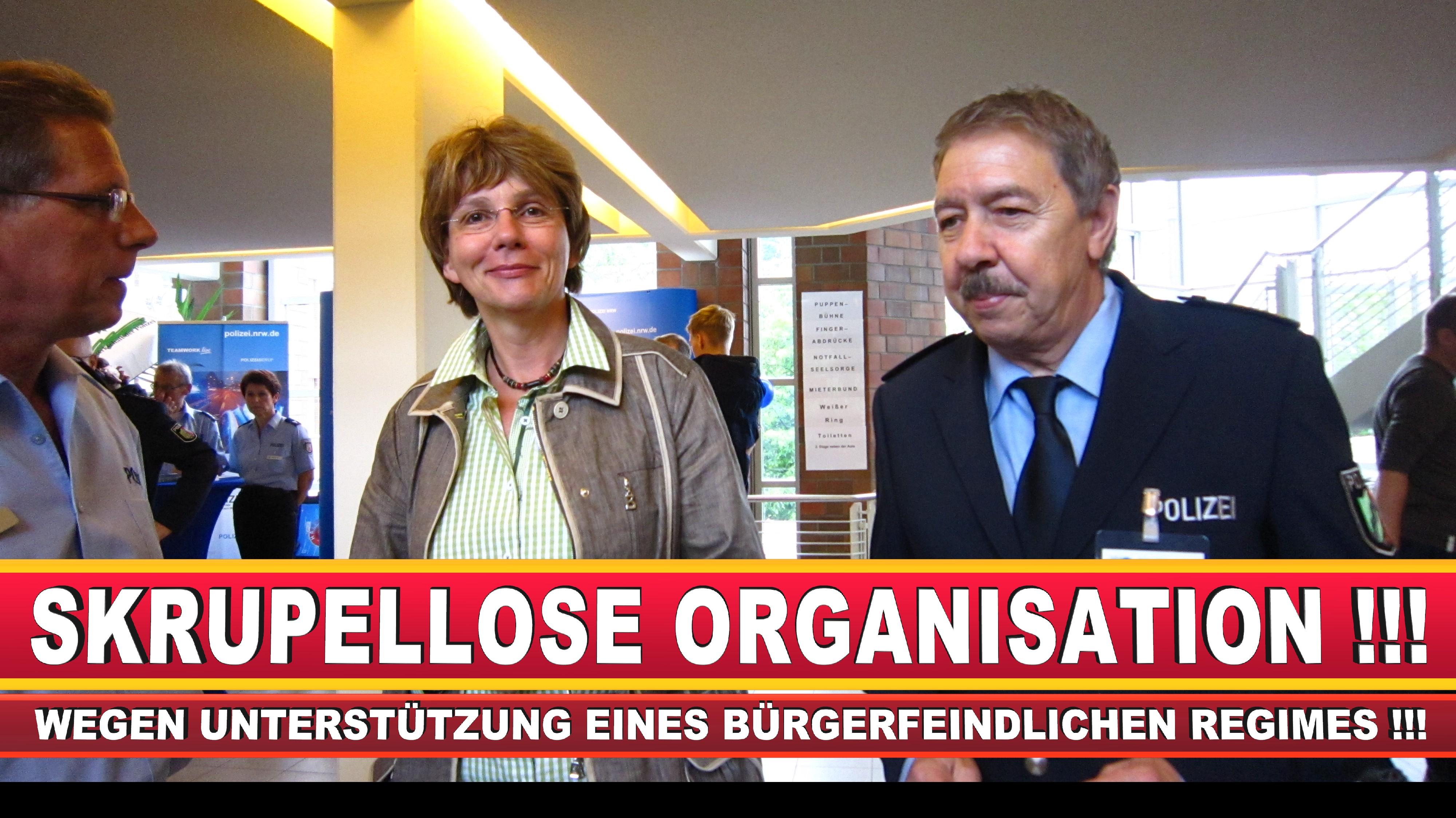 Polizeipräsidentin Katharina Giere Polizei Bielefeld NRW Erwin Südfeld Horst Kruse Polizeiuniform Polizeigewalt DEMONSTRATION Bahnhof (27)