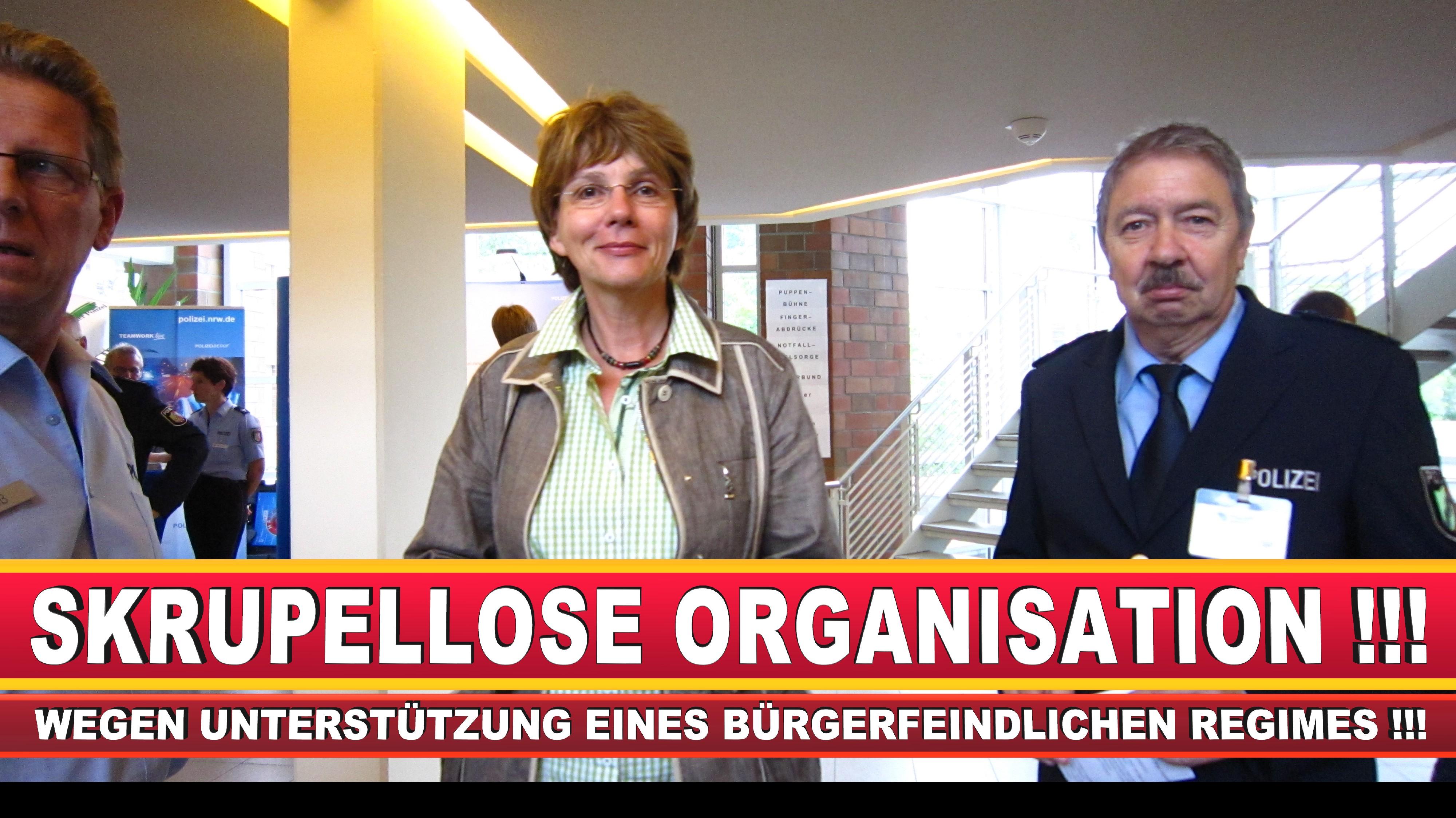 Polizeipräsidentin Katharina Giere Polizei Bielefeld NRW Erwin Südfeld Horst Kruse Polizeiuniform Polizeigewalt DEMONSTRATION Bahnhof (28)