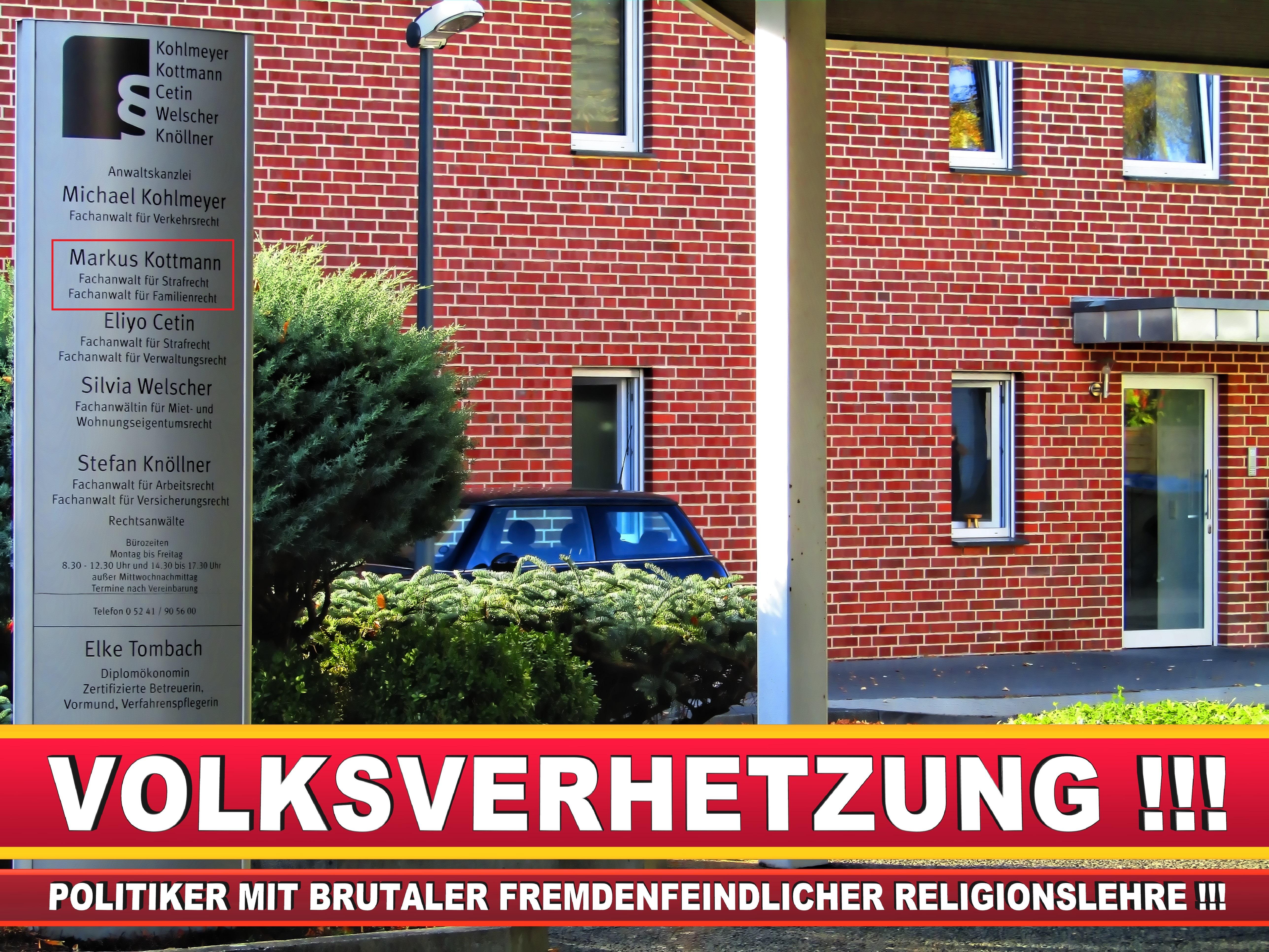 RECHTSANWÄLTE KOHLMEYER KOTTMANN CETIN WELSCHER KNÖLLNER RECHTSANWALT GÜTERSLOH GT (3) LANDTAGSWAHL BUNDESTAGSWAHL BÜRGERMEISTERWAHL