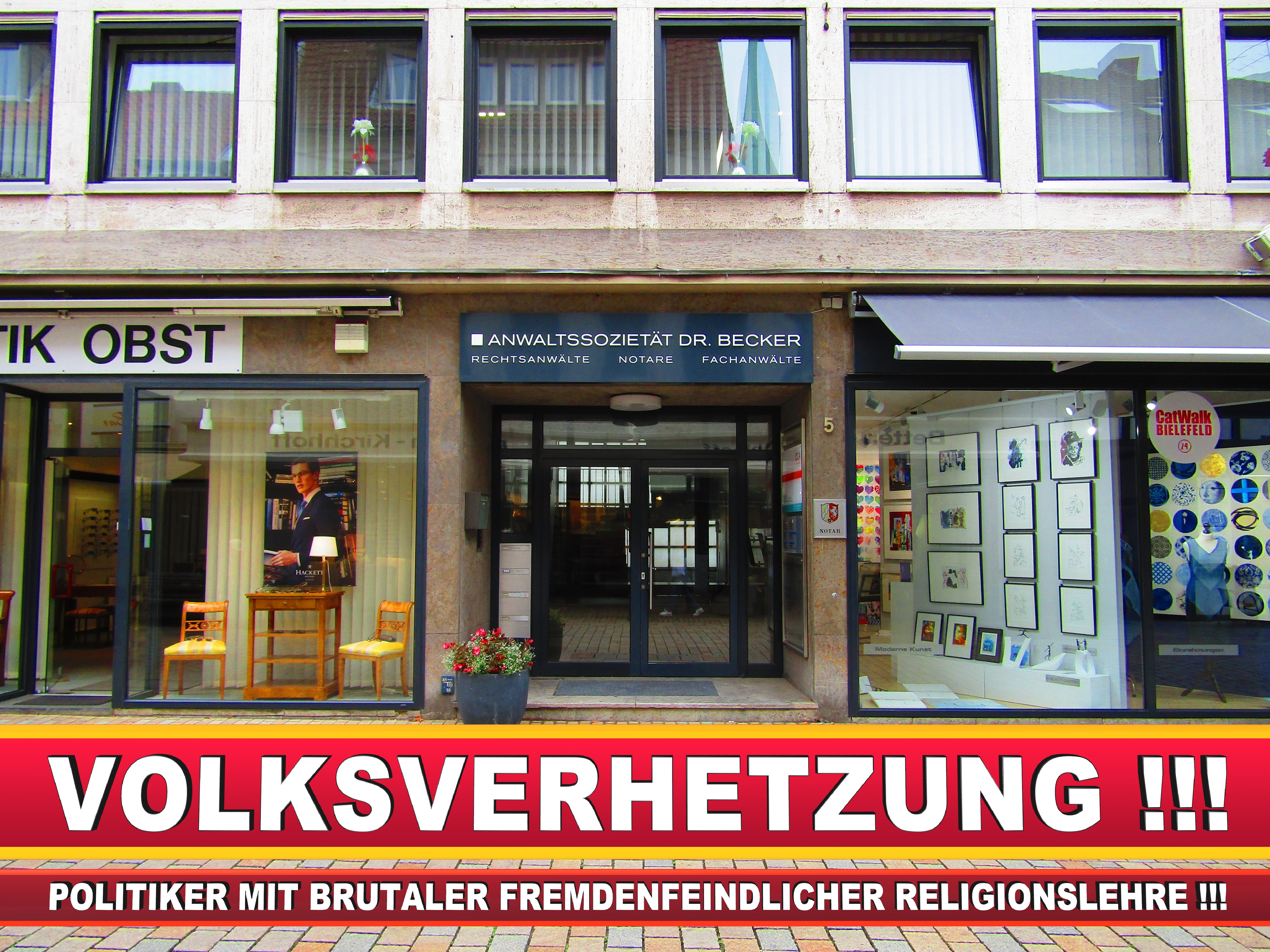 RECHTSANWALT DR THORSTEN FELDMANN CDU BIELEFELD Rechtsanwalt Und Notar A D Werner Kaup (3) LANDTAGSWAHL BUNDESTAGSWAHL BÜRGERMEISTERWAHL