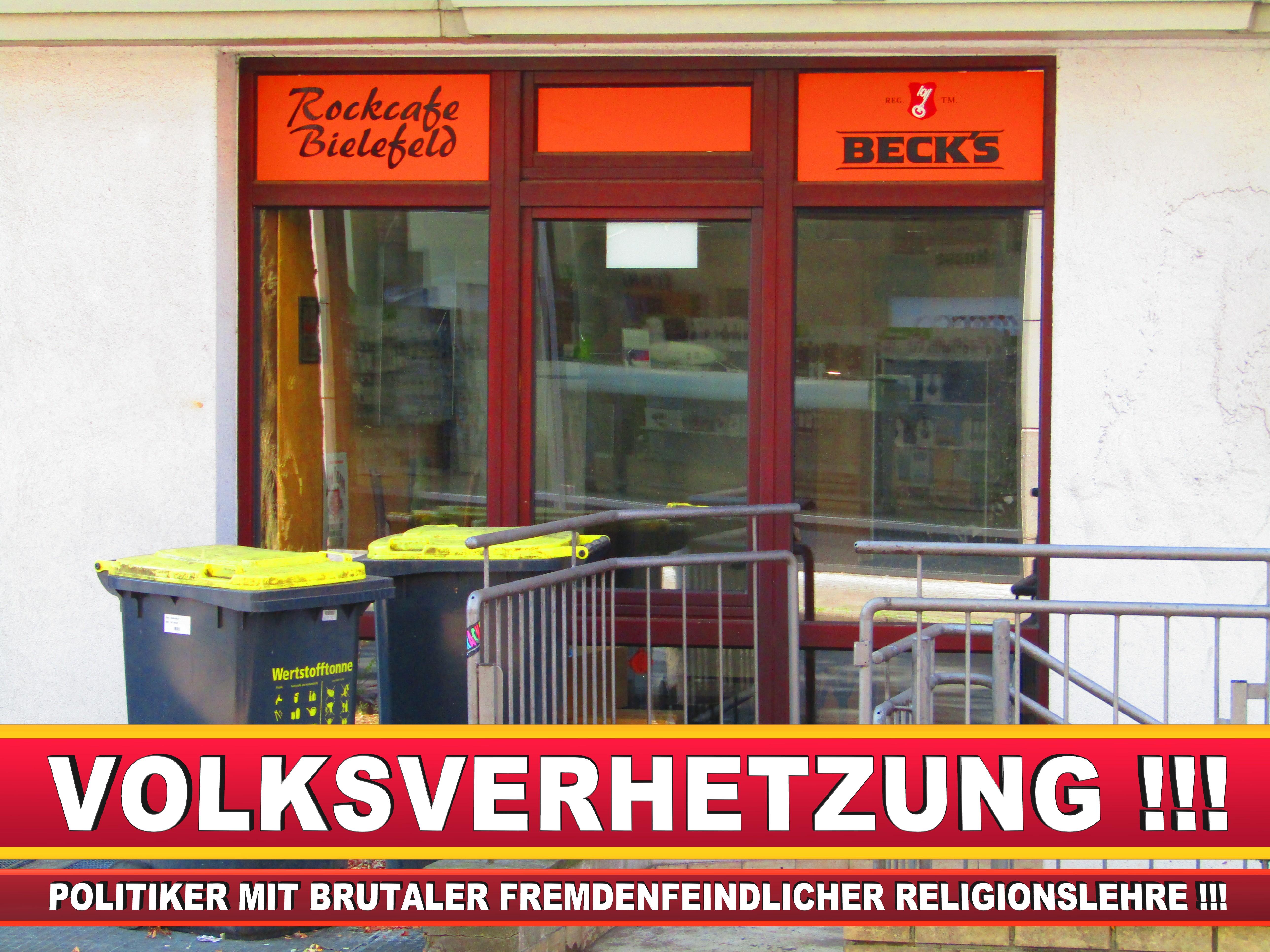 ROCK CAFE BIELEFELD CDU BIELEFELD Inhaber Niklas Meyer Und Markus Prange (1) LANDTAGSWAHL BUNDESTAGSWAHL BÜRGERMEISTERWAHL