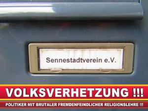 SENNESTADTVEREIN CDU BIELEFELD (2) LANDTAGSWAHL BUNDESTAGSWAHL BÜRGERMEISTERWAHL