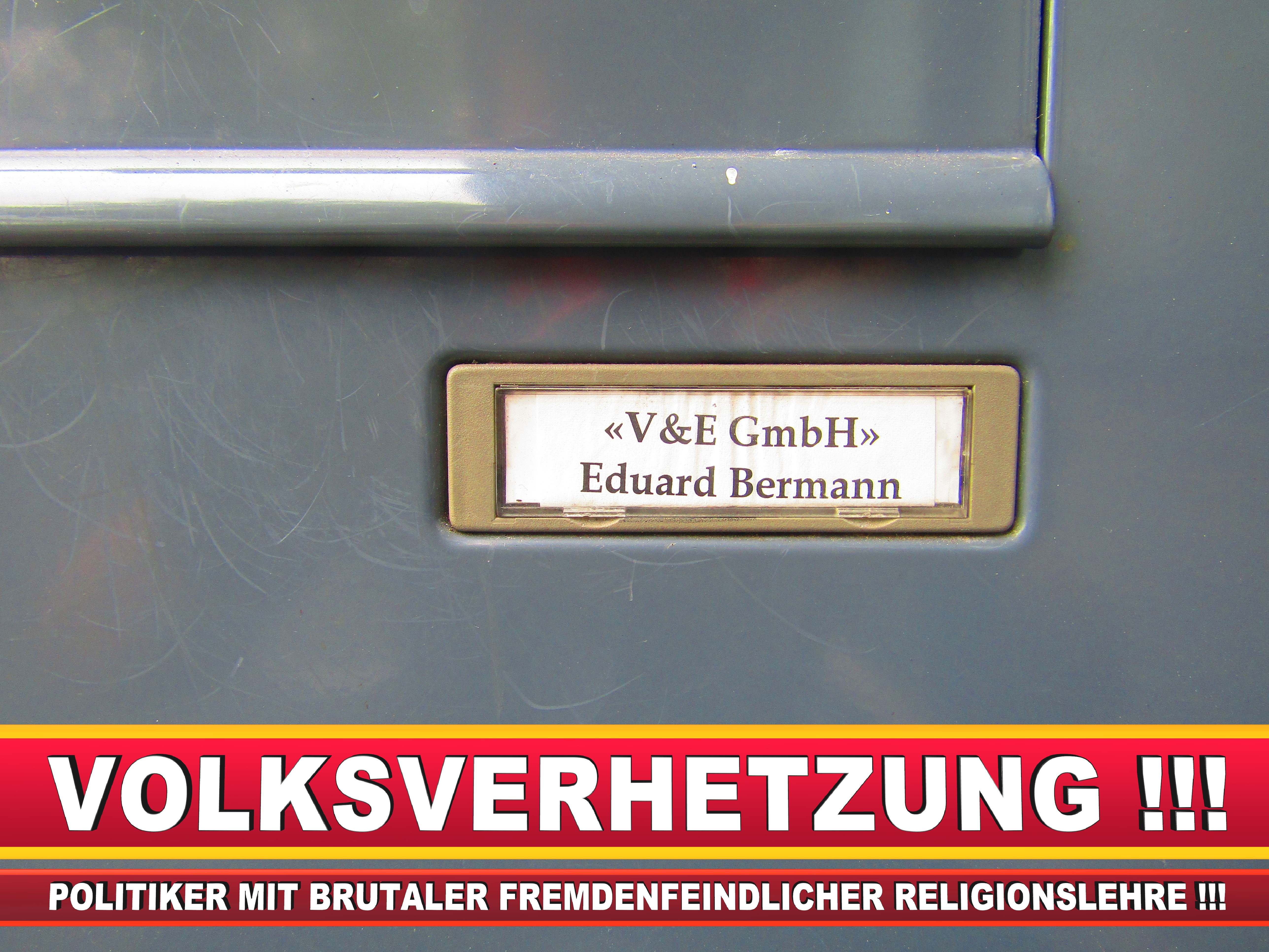V&E GMBH EDUARD BERMANN LANDTAGSWAHL BUNDESTAGSWAHL BÜRGERMEISTERWAHL