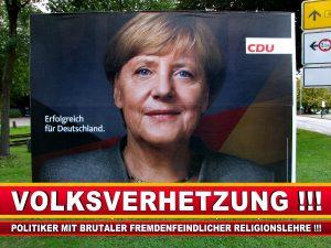 Angela Merkel Wahlplakat Wahlwerbung Bielefeld Volksverhetzung Durch Religion (1)