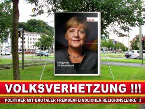 Angela Merkel Wahlplakat Wahlwerbung Bielefeld Volksverhetzung Durch Religion (3)