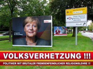 Angela Merkel Wahlplakat Wahlwerbung Bielefeld Volksverhetzung Durch Religion (4)