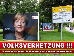 Angela Merkel Wahlplakat Wahlwerbung Bielefeld Volksverhetzung Durch Religion (5)