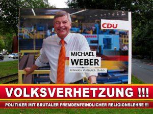 Michael Weber CDU Wahlplakat Wahlwerbung Bielefeld Volksverhetzung Durch Religion (2)