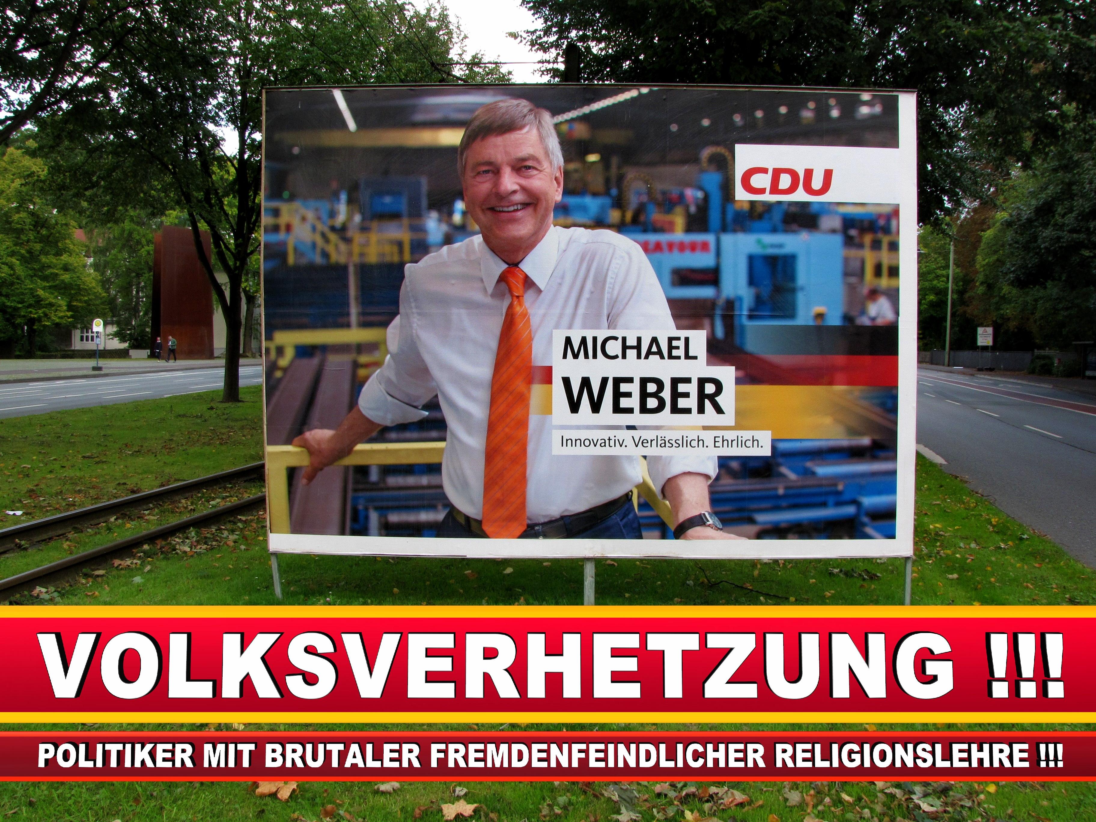 Michael Weber CDU Wahlplakat Wahlwerbung Bielefeld Volksverhetzung Durch Religion (4)