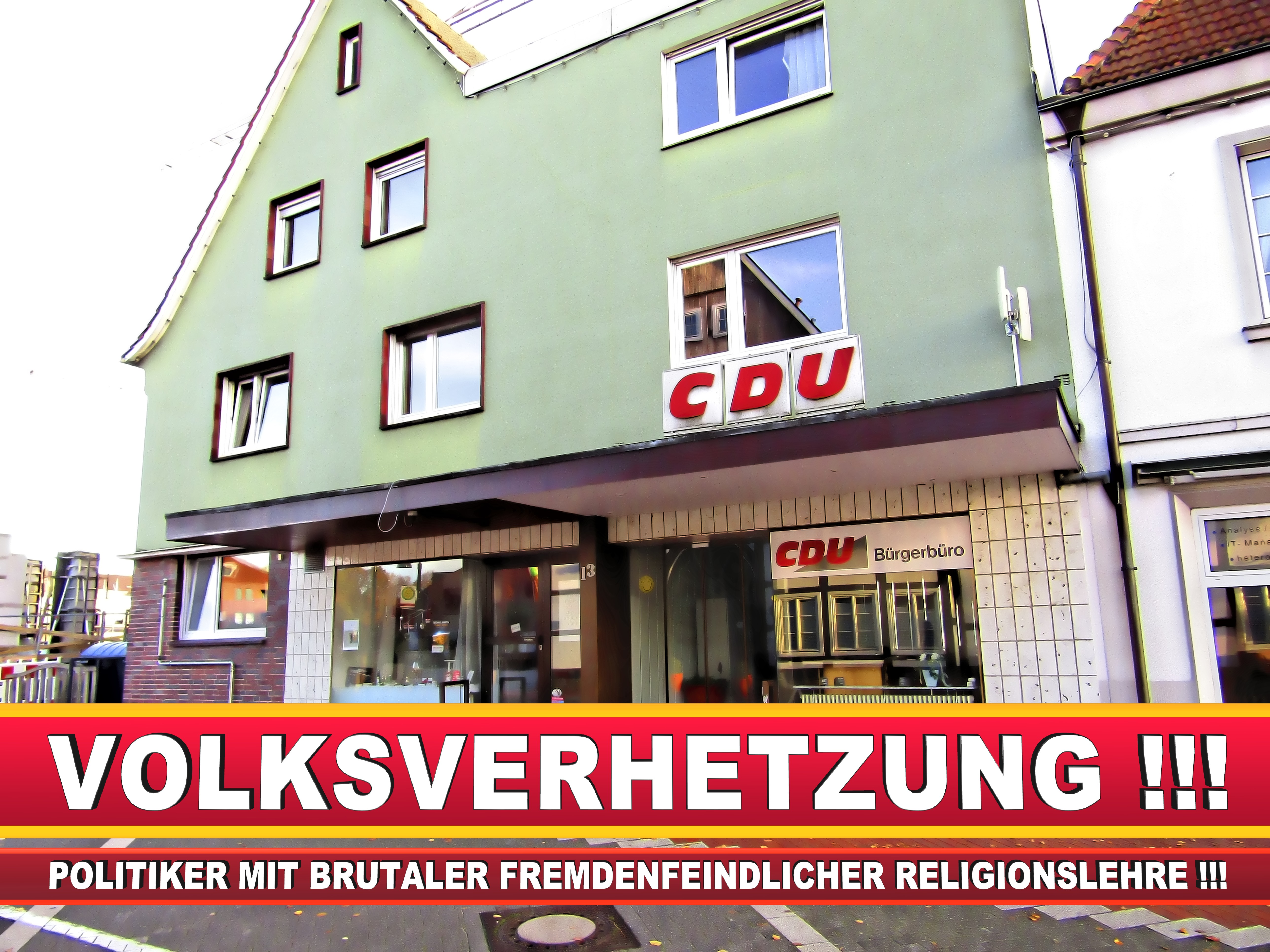 CDU GEMEINDEVERBAND STEINHAGEN AM MARKT 13 33803 STEINHAGEN NRW ORTSVERBAND CDU STEINHAGEN (13)