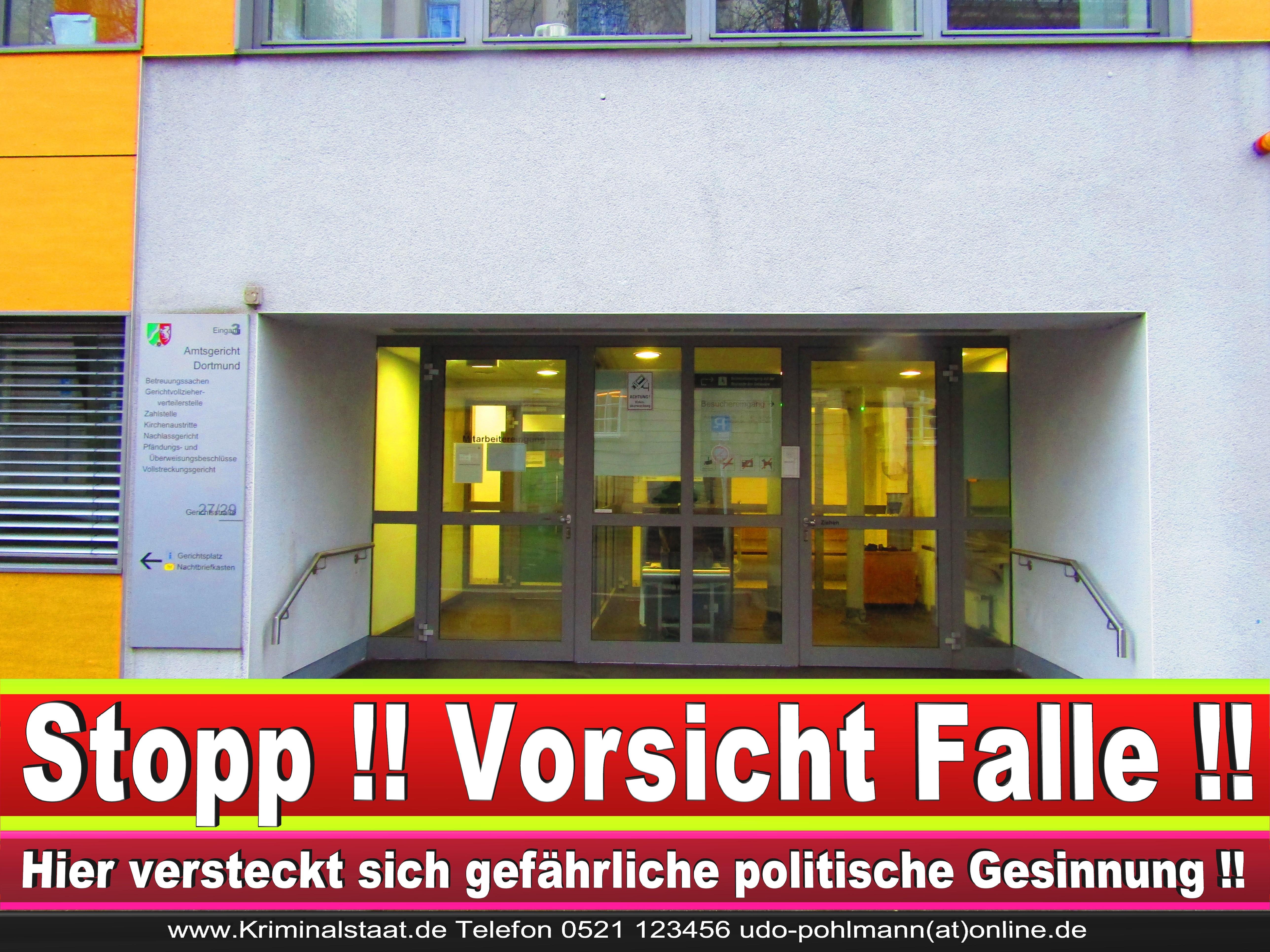AMTSGERICHT DORTMUND RICHTER AUSBILDUNG PRAKTIKUM ANFAHRT URTEILE KORRUPTION POLIZEI ADRESSE DIREKTOR (11) 2