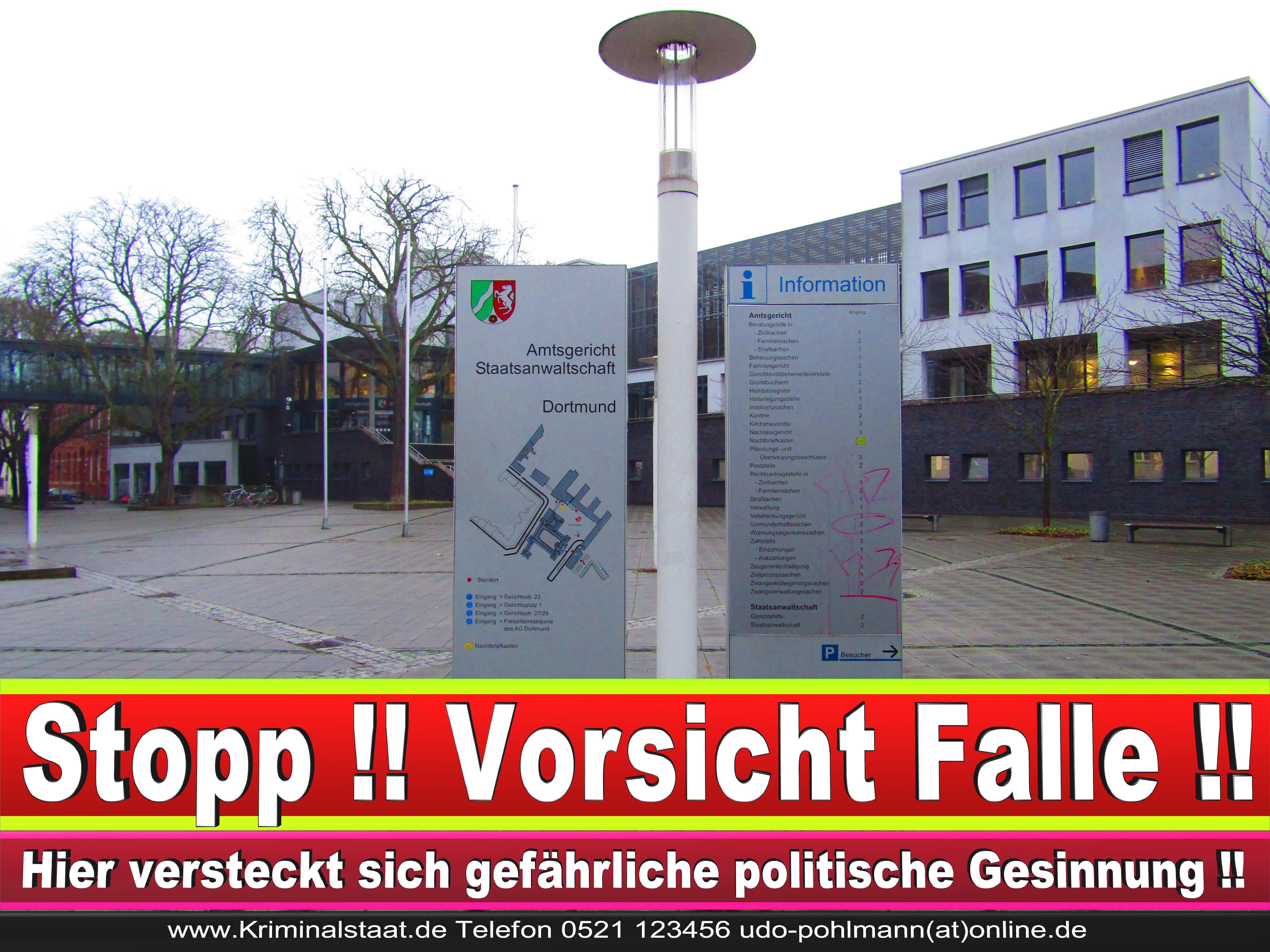 AMTSGERICHT DORTMUND RICHTER AUSBILDUNG PRAKTIKUM ANFAHRT URTEILE KORRUPTION POLIZEI ADRESSE DIREKTOR (13) 1 1