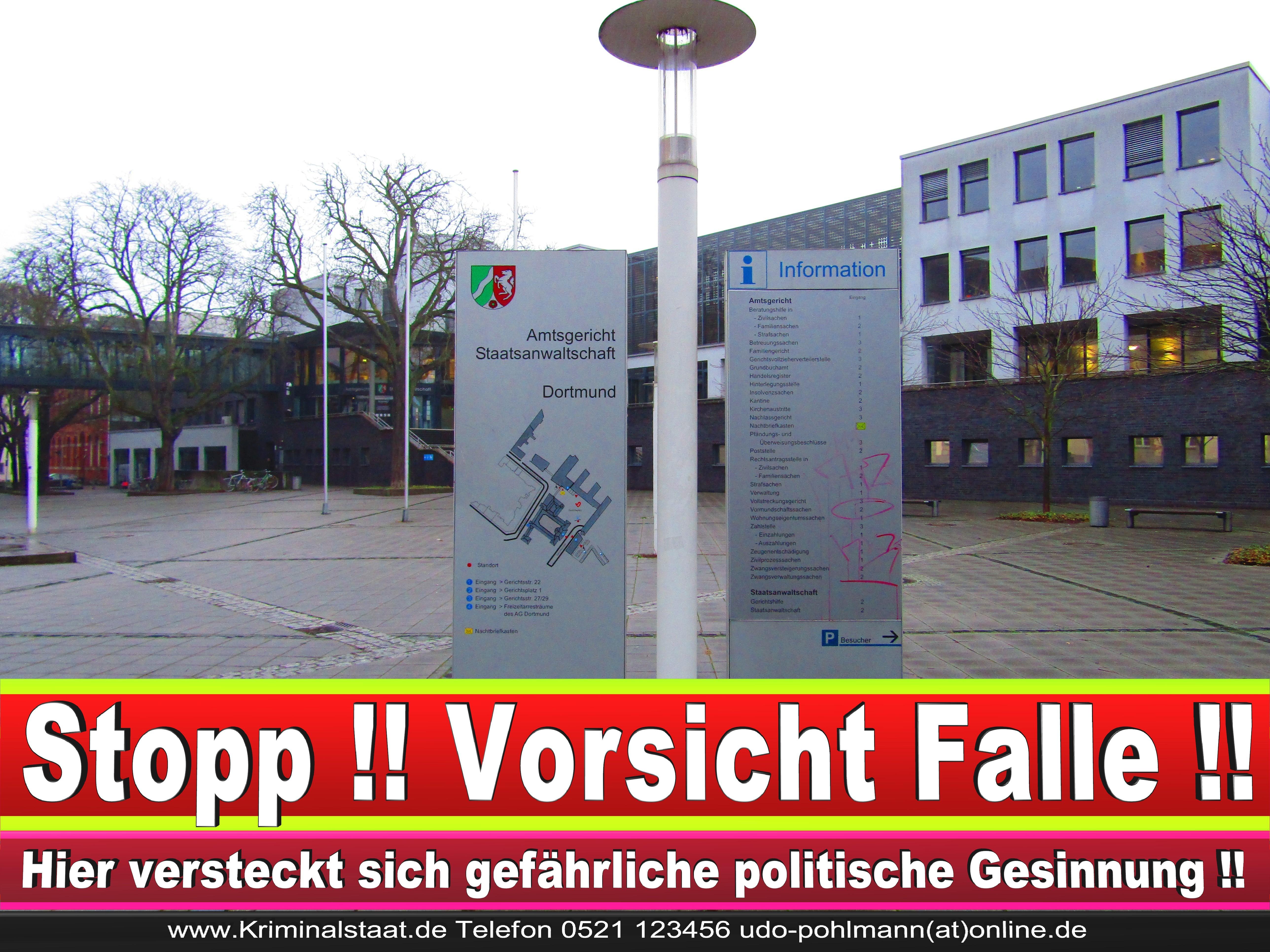 AMTSGERICHT DORTMUND RICHTER AUSBILDUNG PRAKTIKUM ANFAHRT URTEILE KORRUPTION POLIZEI ADRESSE DIREKTOR (13) 2