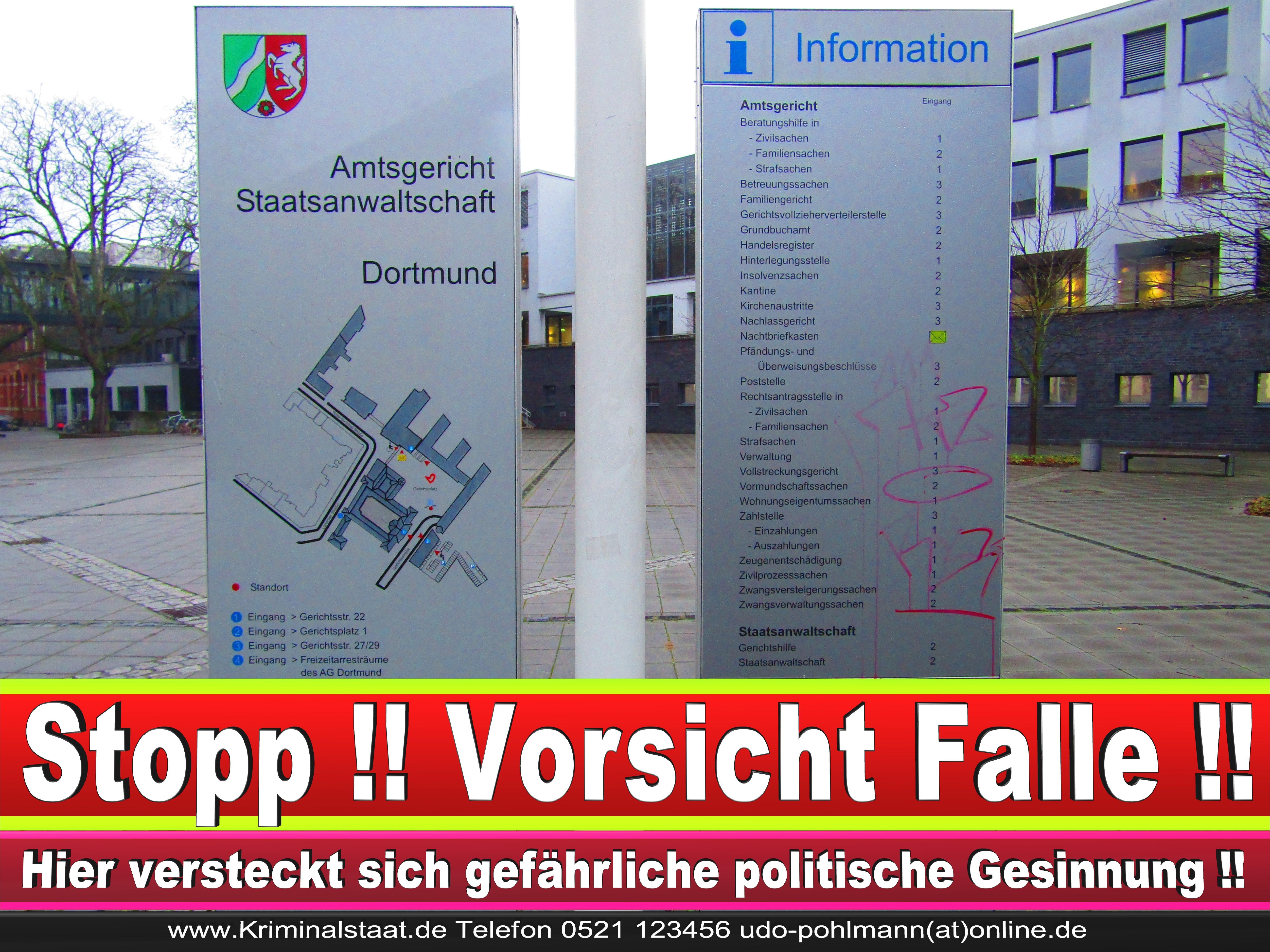 AMTSGERICHT DORTMUND RICHTER AUSBILDUNG PRAKTIKUM ANFAHRT URTEILE KORRUPTION POLIZEI ADRESSE DIREKTOR (14) 1 1