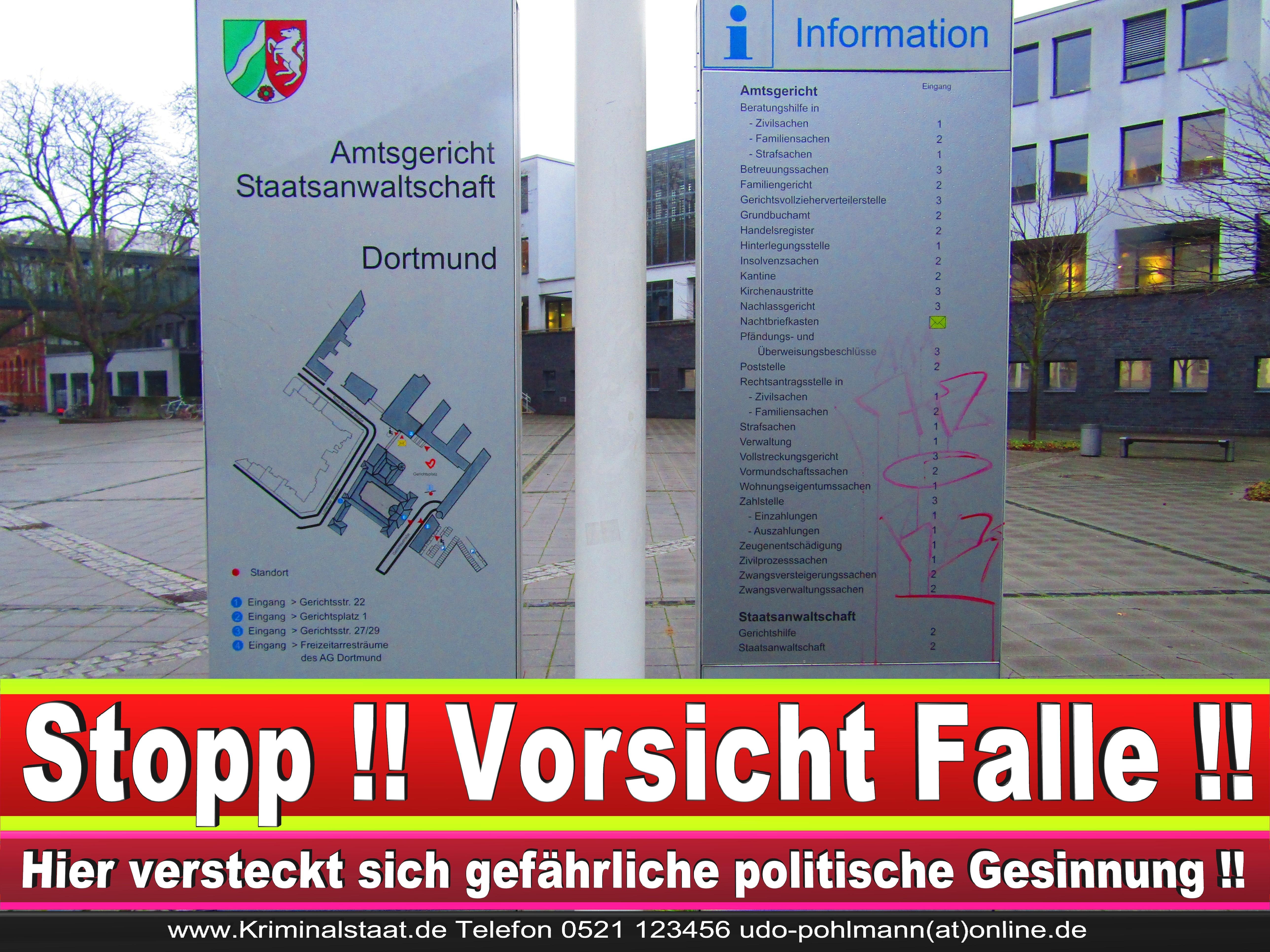 AMTSGERICHT DORTMUND RICHTER AUSBILDUNG PRAKTIKUM ANFAHRT URTEILE KORRUPTION POLIZEI ADRESSE DIREKTOR (14) 2