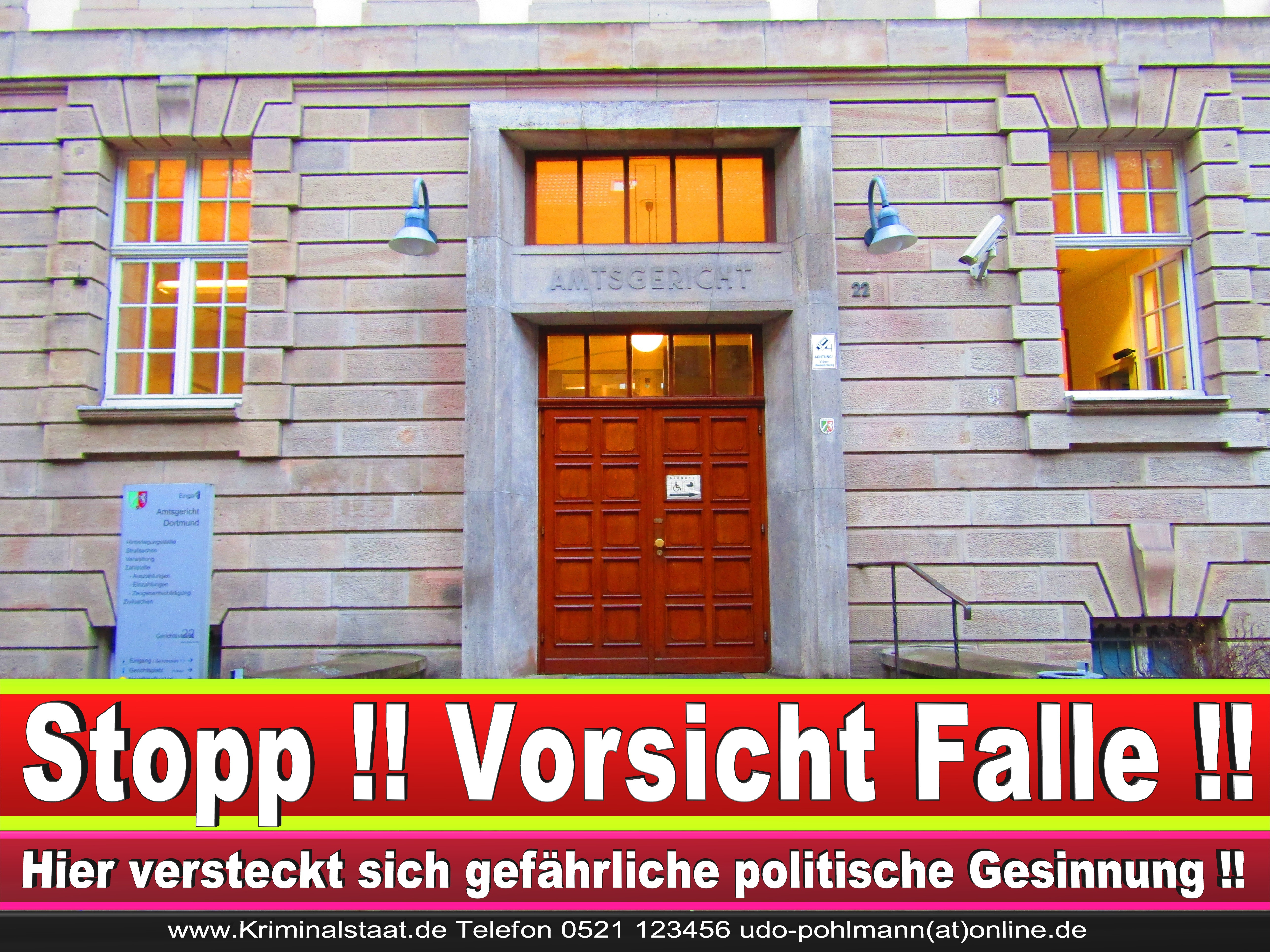 AMTSGERICHT DORTMUND RICHTER AUSBILDUNG PRAKTIKUM ANFAHRT URTEILE KORRUPTION POLIZEI ADRESSE DIREKTOR (4) 1 1