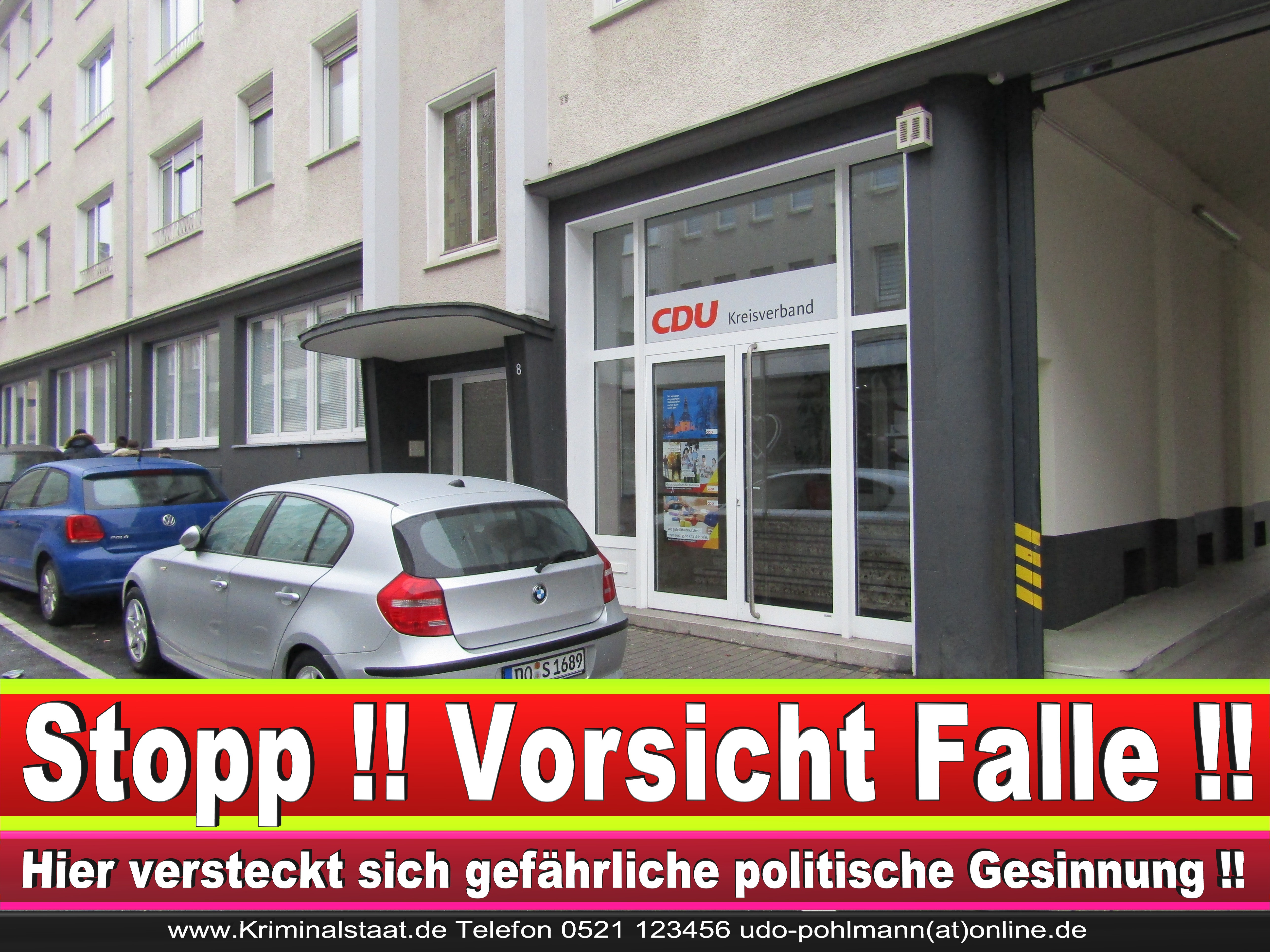 CDU DORTMUND KREISVERBAND BüRGERBüRO CDU FRAKTION ORTSVERBAND CDU NRW GESCHäFTSSTELLE ADRESSE RATSMITGLIEDER CDU (4) 1