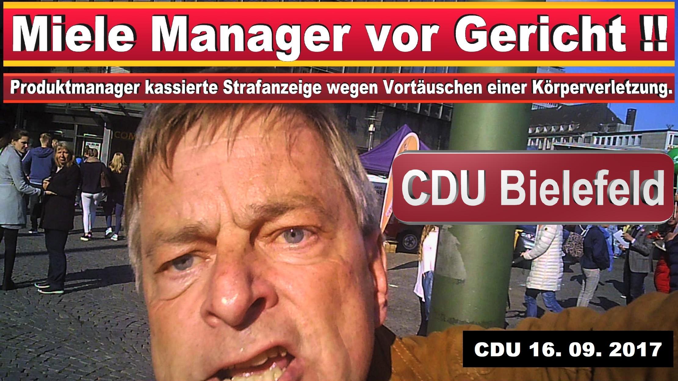 MICHAEL WEBER MIELE GüTERSLOH CDU BIELEFELD POLIZEIGEWALT GEWALTAUSBRUCH UND STRAFANZEIGE GEGEN EINEN JOURNALISTEN (1) KOPIE