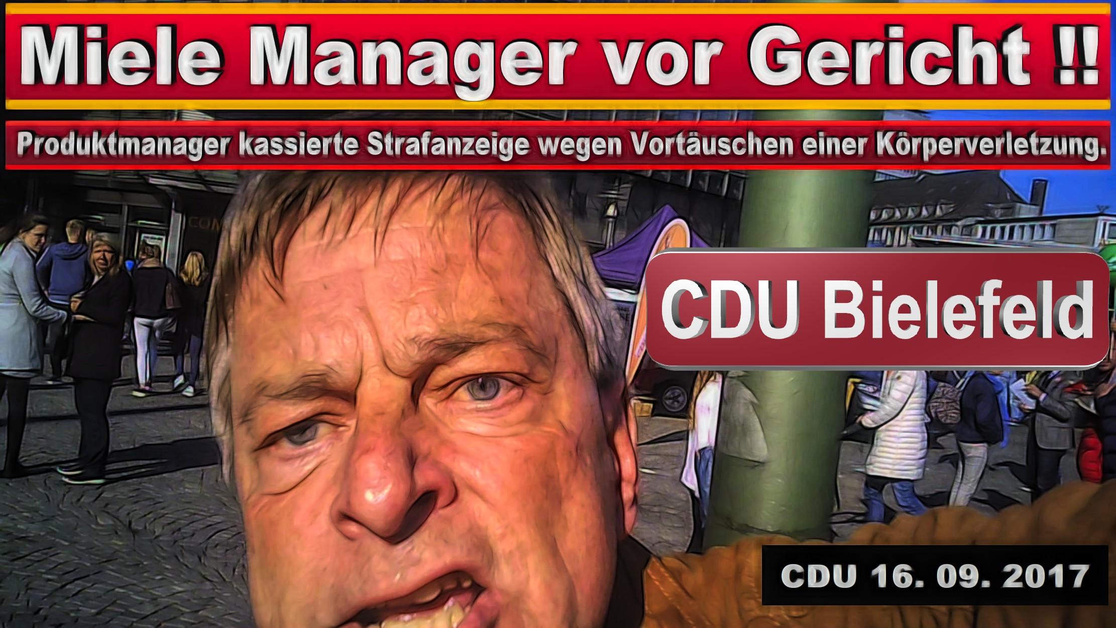 CDU PARTEITAG 2018 BIELEFELD MICHAEL WEBER MIELE GüTERSLOH PRODUKTMANAGER JURIST SPD FDP AFD BIELEFELD